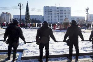 Rosja: Protesty w obronie Aleksieja Nawalnego. Zatrzymano kilkadziesiąt osób