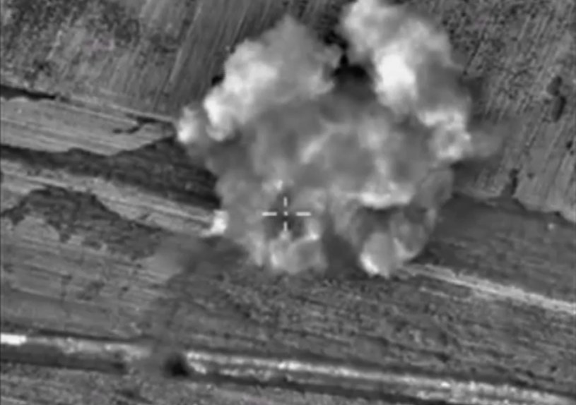 Rosja prowadzi naloty bombowe w Syrii /PAP/EPA