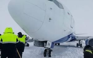 Rosja: Samolot wypadł z pasa podczas lądowania