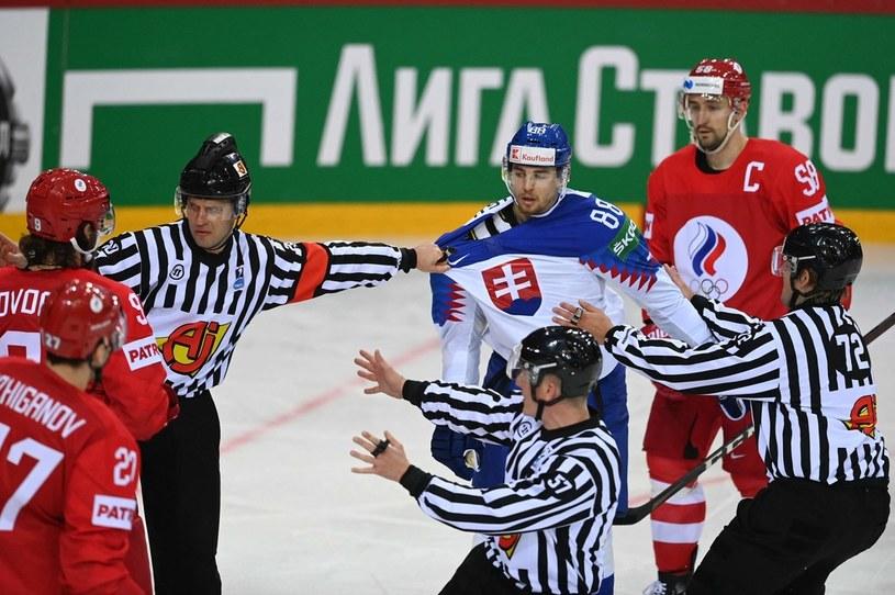 Rosja - Słowacja /GINTS IVUSKANS  /AFP