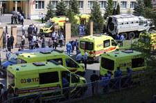 """Rosja: Sprawca strzelaniny w szkole w Kazaniu ma """"chorobę mózgowia"""""""