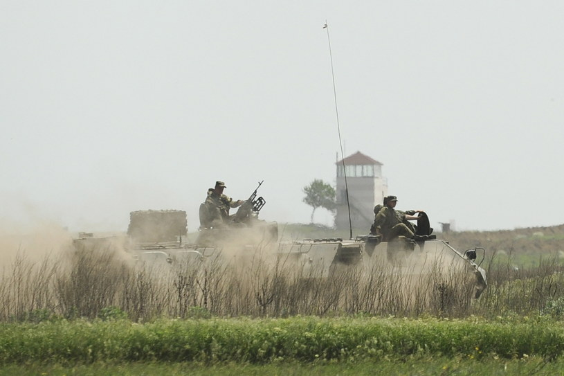 Rosja wzmacnia granicę z Ukrainą /Reuters /Agencja FORUM