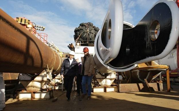 Rosja zaciska pętle wokół gazowej Europy /AFP
