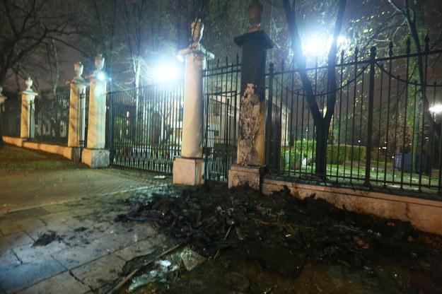 Rosja żąda przeprosin za burdy przed ambasadą