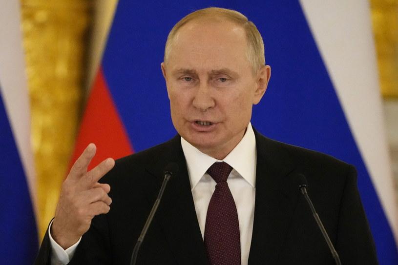 """Rosja zapowiada """"ostrą reakcję"""" na sankcje USA /ALEXANDER ZEMLIANICHENKO /POOL /PAP/EPA"""