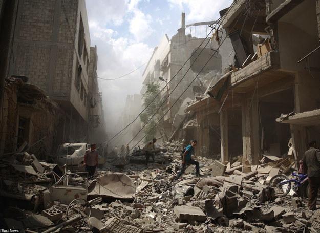 Rosja zaprzecza, by uczestniczyła tam bezpośrednio w akcjach bojowych/ Syria, 30.08.2015 /AFP /East News