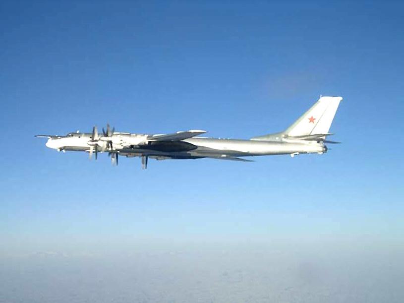 Rosjanie budowali atomowy samolot w oparciu o konstrukcję bombowca Tu-95. /AFP