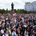 Rosjanie coraz bardziej niezadowoleni. Wzrosła liczba protestów