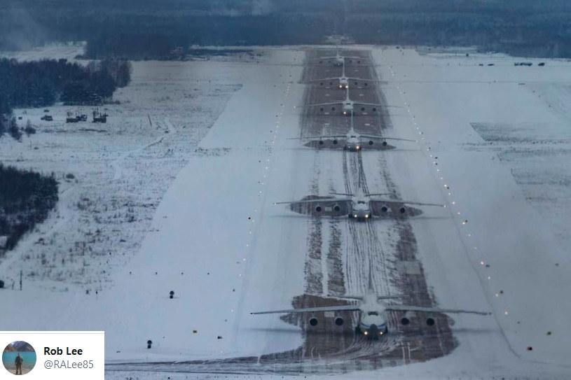 Rosjanie dokonali udanego startu sześciu modeli AN-124 /Twitter