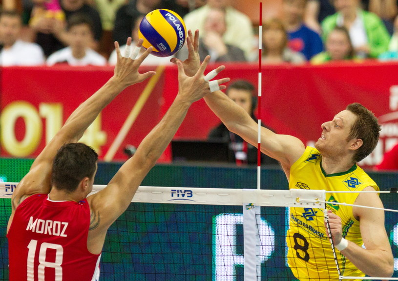 Rosjanie i Brazylijczycy to rywale Polaków w III fazie MŚ /Andrzej Grygiel /PAP
