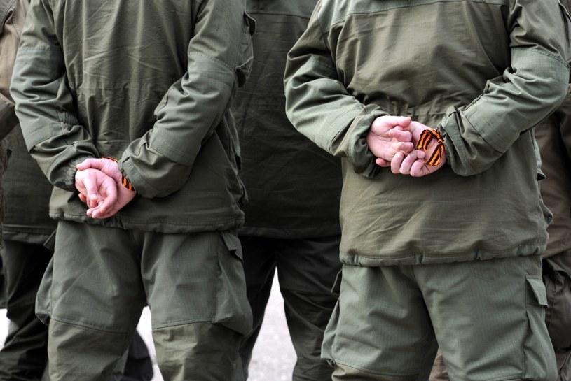 Rosjanie na Krymie /AFP