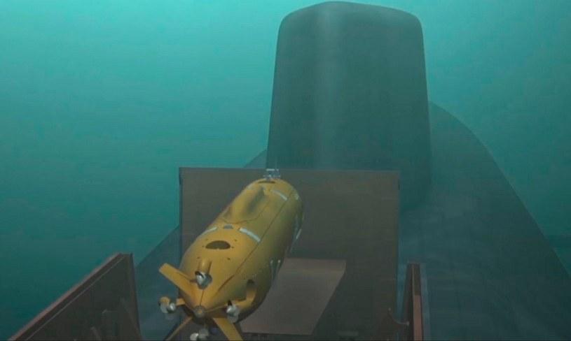 Rosjanie nie ujawniają jeszcze w jaki sposób torpeda będzie transportowana przez nosiciela. Wszelkie wizualizacje można uznać za prawdopodobne /MON FR /domena publiczna