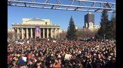 """Rosjanie protestowali przeciw """"kościelnemu radykalizmowi"""""""