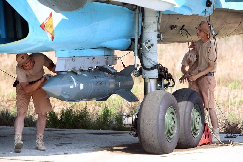 Rosjanie prowadzą w Syrii naloty m.in. na cele Państwa Islamskiego /AFP