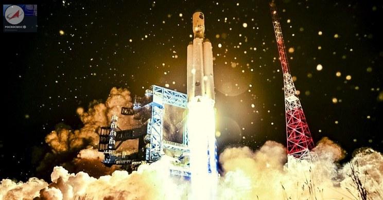 Rosjanie z udanym startem rakiety Angara. Fot. Roskosmos /materiał zewnętrzny