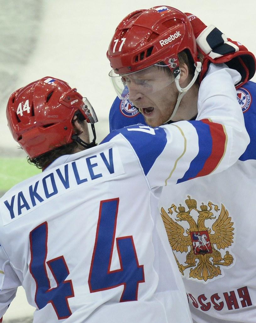 Rosjanie zagrają o złoto mistrzostw świata /AFP