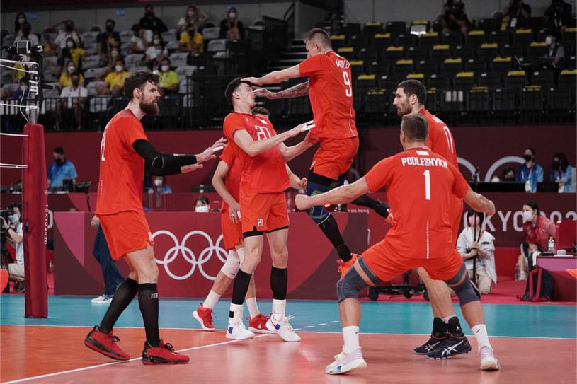 Rosjanie zagrają w olimpijskim finale /Zdj. udostępnione przez FIVB /materiał zewnętrzny