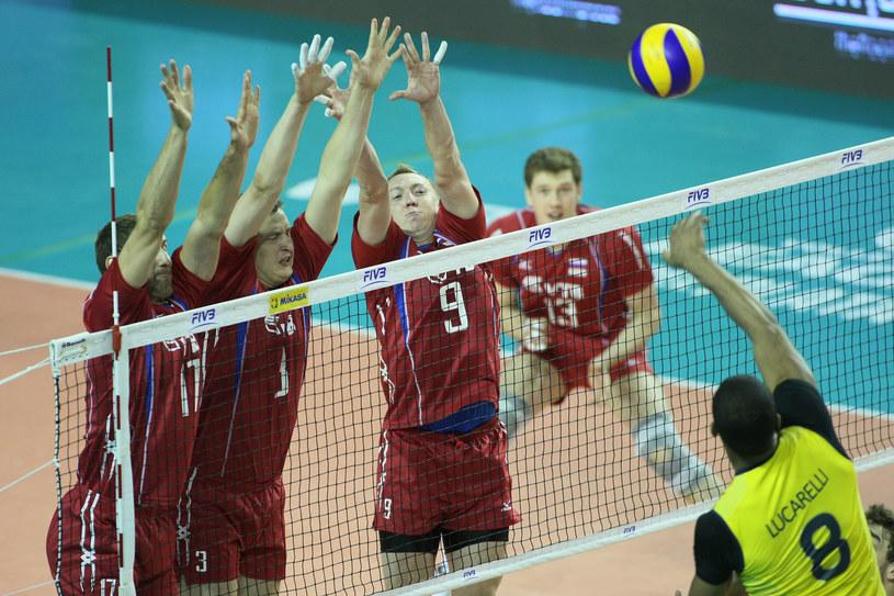 Rosjanie znów okazali się lepsi od Brazylijczyków /www.fivb.org