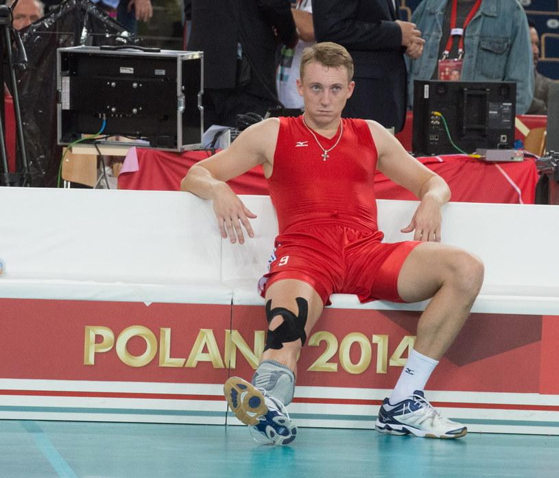 Rosjanin Aleksiej Spiridonow przeżywa porażkę z Brazylią /Grzegorz Michałowski /PAP