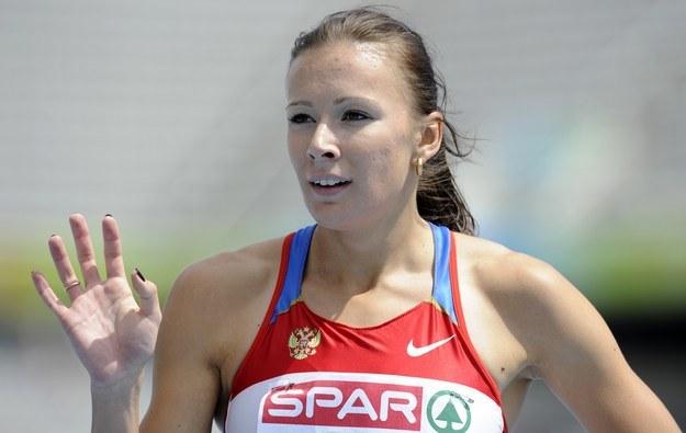Rosjanka - Julia Czermoszańska w 2010 roku podczas mistrzostw Europy /AFP