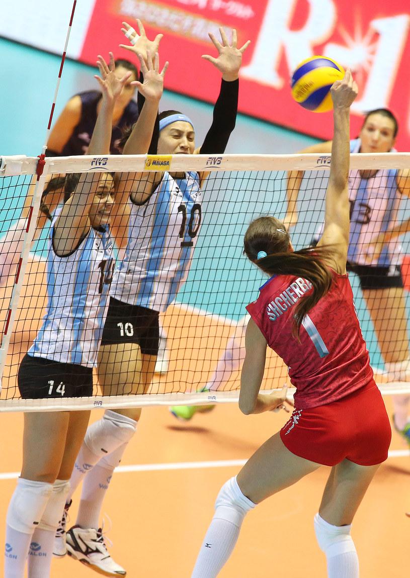 Rosjanki bez trudu pokonały Argentynę /www.fivb.org