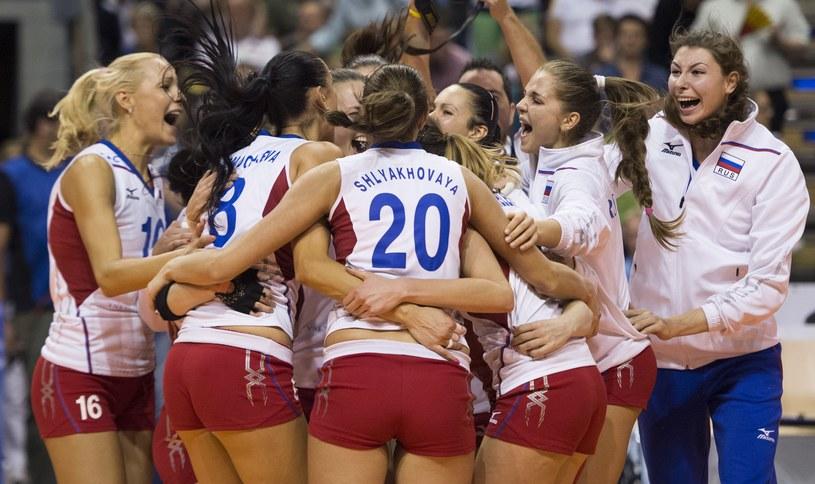 Rosjanki świętują wielki sukces /AFP