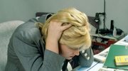 Rosnący stres w pracy