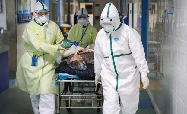 Rośnie liczba ofiar koronawirusa. W Wuhan zmarł Amerykanin
