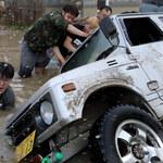 Rośnie liczba ofiar śmiertelnych powodzi w Japonii. Nie żyje 199 osób