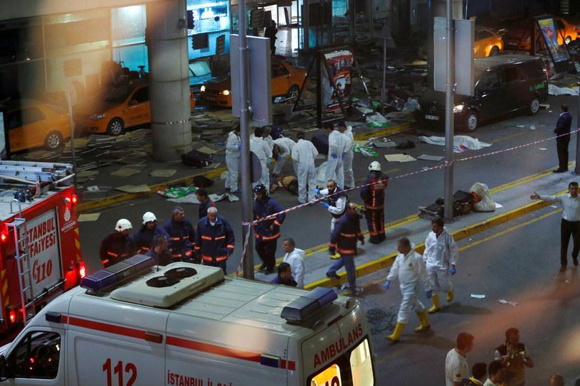 Rośnie liczba zabitych w Stambule /Murad Sezer /Agencja FORUM