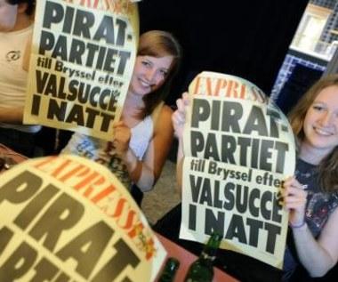 Rośnie popularność Partii Piratów