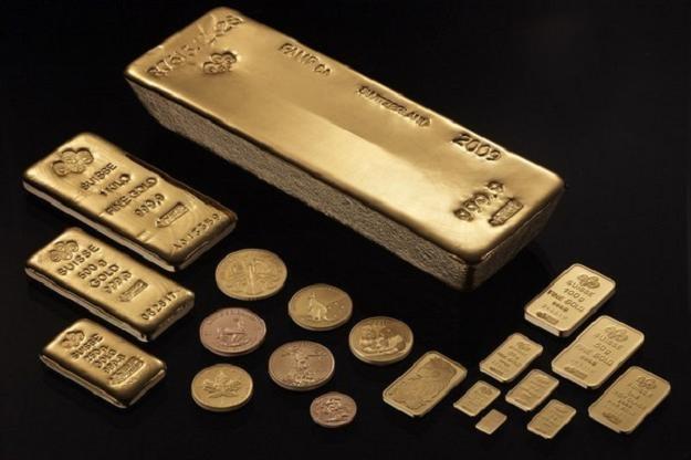 Rośnie popyt na metale szlachetne, drożeje złoto i srebro /AFP