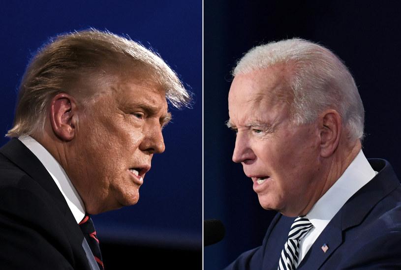 Rośnie sondażowa przewaga Joe Bidena (z prawej) nad Donaldem Trumpem /JIM WATSON, SAUL LOEB /AFP