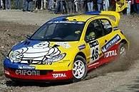 Rossi w Peugeocie 206 WRC /INTERIA.PL
