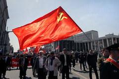 Rosyjscy komuniści świętują 1 maja