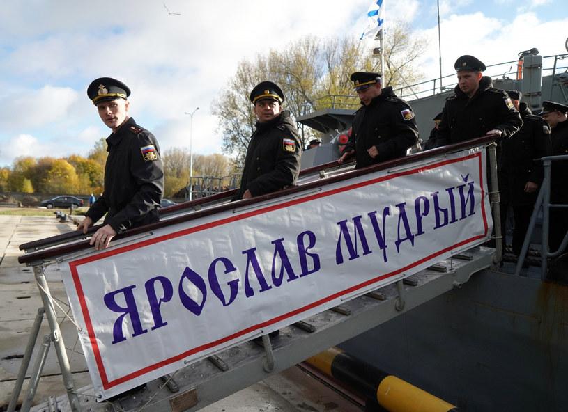 Rosyjscy oficerowie marynarki wojennej w Kaliningradzie /Igor Zarembo/Sputnik /East News