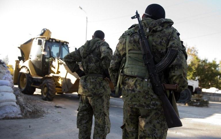 Rosyjscy separatyści, zdj. ilustarcyjne /AFP