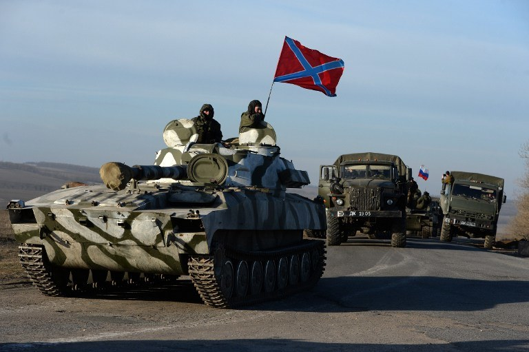 Rosyjscy separatyści, zdj. ilustracyjne /AFP