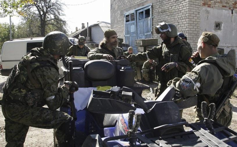 Rosyjscy separatyści /PAP/EPA