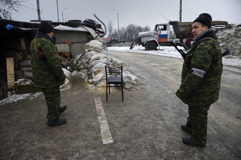 Rosyjscy separatyści /AFP