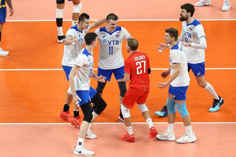 Rosyjscy siatkarze na ME /Piotr Matusewicz /East News