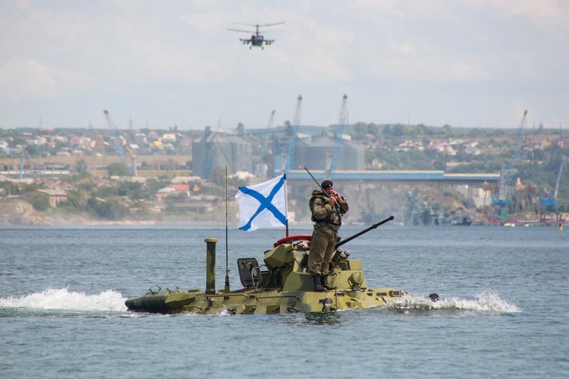 Rosyjscy żołnierze na Krymie /AFP