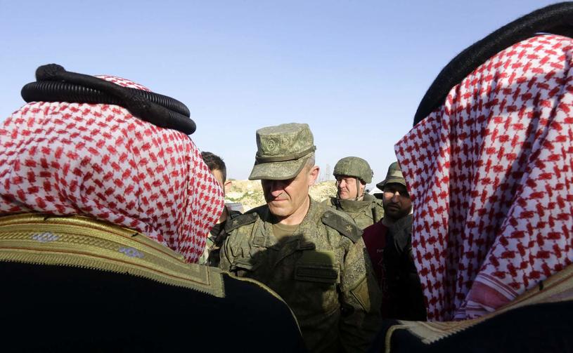 Rosyjska armia we wschodniej Ghucie /AFP