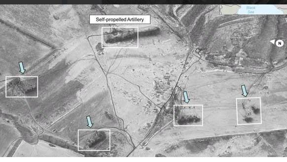 Rosyjska artyleria w rejonie Debalcewa /Twiiter /
