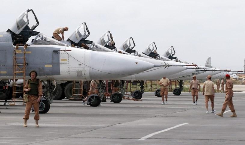 Rosyjska baza w Syrii /SERGEI CHIRIKOV /PAP/EPA