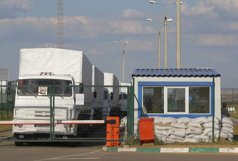 Rosyjska ciężarówka /PAP/EPA