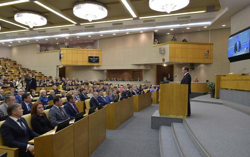 Rosyjska Duma /AFP