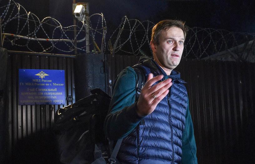 Rosyjska Federalna Służba Więzienna chce zatrzymać Aleksieja Nawalnego /VASILY MAXIMOV /AFP