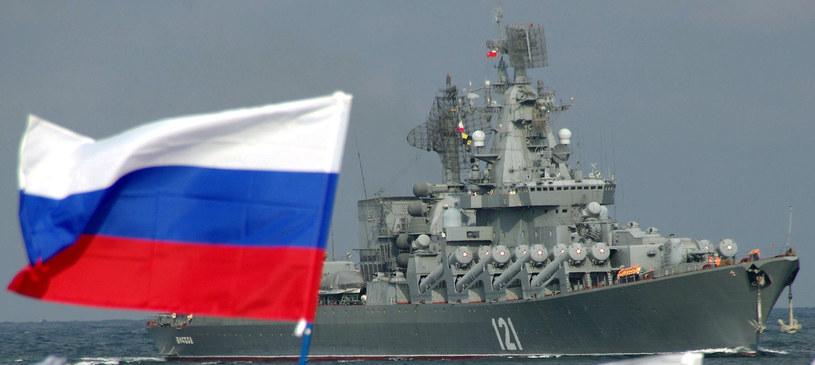 Rosyjska flota w stanie podwyższonej gotowości bojowej /AFP