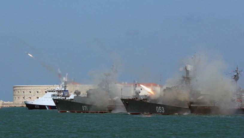 Rosyjska marynarka wojenna w porcie w Sewastopolu /AFP